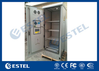 DC48V Air Conditioner Outdoor Battery Cabinet , Outdoor Server Cabinet