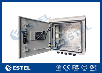 9U Outdoor IP55 Pole Mounted Cabinet For Communication Base Station
